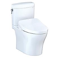 Aquia® IV Cube - WASHLET®+ S550e Two-Piece Toilet - 1.28 GPF & 0.8 GPF