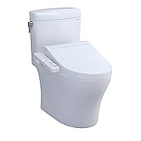 Aquia® IV Cube 1G® - WASHLET®+ C2 Two-Piece Toilet - 1.0 GPF & 0.8 GPF