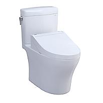 Aquia® IV Cube - WASHLET®+ C5 Two-Piece Toilet - 1.28 GPF & 0.8 GPF