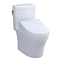 Aquia® IV Cube 1G® - WASHLET®+ C5 Two-Piece Toilet - 1.0 GPF & 0.8 GPF
