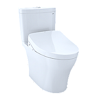 Aquia® IV 1G - WASHLET®+ S500e Two-Piece Toilet - 1.0 GPF & 0.8 GPF - Universal Height