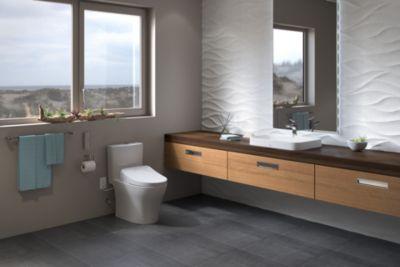 Aquia® IV 1G   WASHLET®+ S500e Two Piece Toilet   1.0 GPF U0026 0.8 GPF    Universal Height