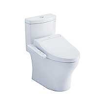 Aquia® IV 1G - WASHLET®+ C2 Two-Piece Toilet - 1.0 GPF & 0.8 GPF - Universal Height
