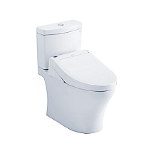 Aquia® IV - WASHLET®+ C5 Two-Piece Toilet - 1.28 GPF & 0.8 GPF - Universal Height
