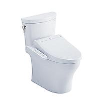 Aquia® IV Arc - WASHLET®+ C2 Two-Piece Toilet - 1.28 GPF & 0.8 GPF