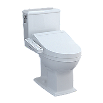 Connelly - WASHLET®+ C2 Two-Piece Toilet - 1.28 GPF & 0.9 GPF