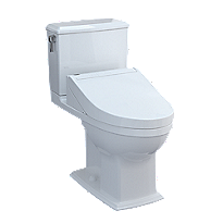 Connelly - WASHLET®+ C5 Two-Piece Toilet - 1.28 GPF & 0.9 GPF