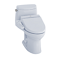 UltraMax II 1G WASHLET®+ C100 One-Piece Toilet - 1.0 GPF