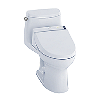 UltraMax II 1G WASHLET®+ C200 One-Piece Toilet - 1.0 GPF