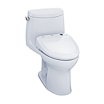 UltraMax II 1G WASHLET®+ S350e One-Piece Toilet - 1.0 GPF