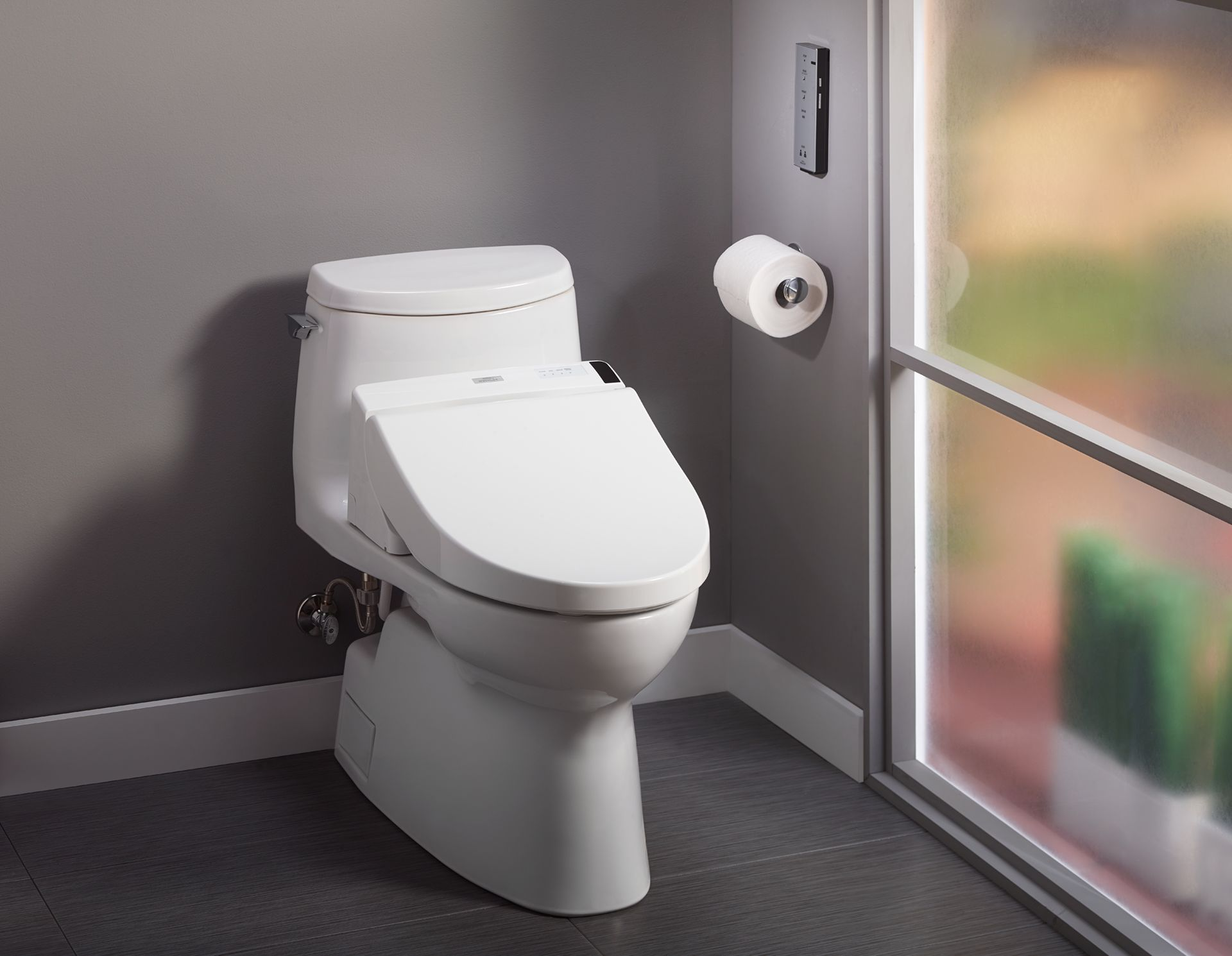 Carlyle® II 1G WASHLET®+ C200 One-Piece Toilet - 1.0 GPF - TotoUSA.com