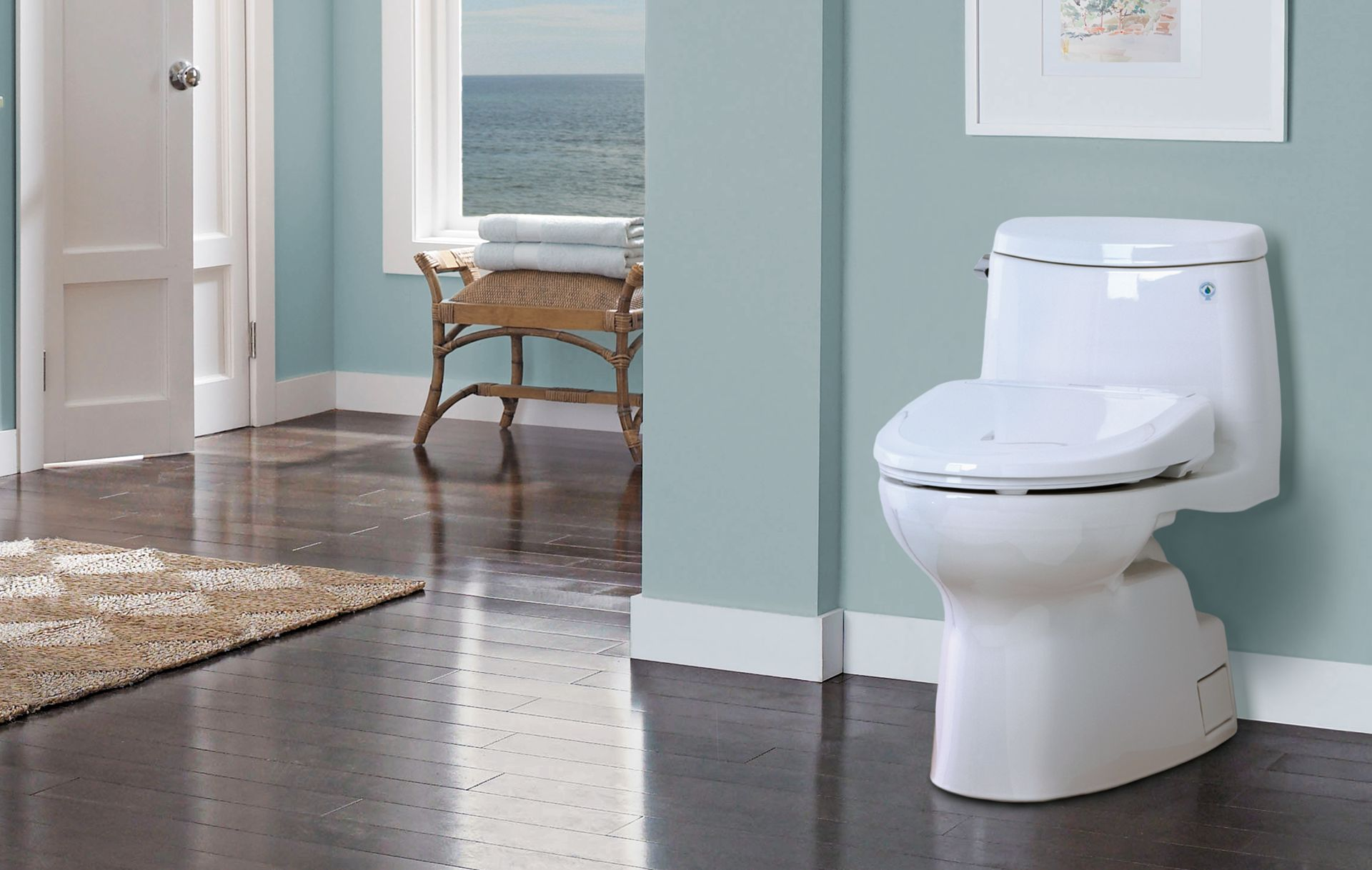 Carlyle® II WASHLET®+ S300e One-Piece Toilet - 1.28 GPF - TotoUSA.com