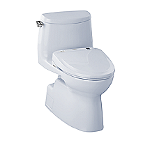 Carlyle® II 1G WASHLET®+ S300e One-Piece Toilet - 1.0 GPF