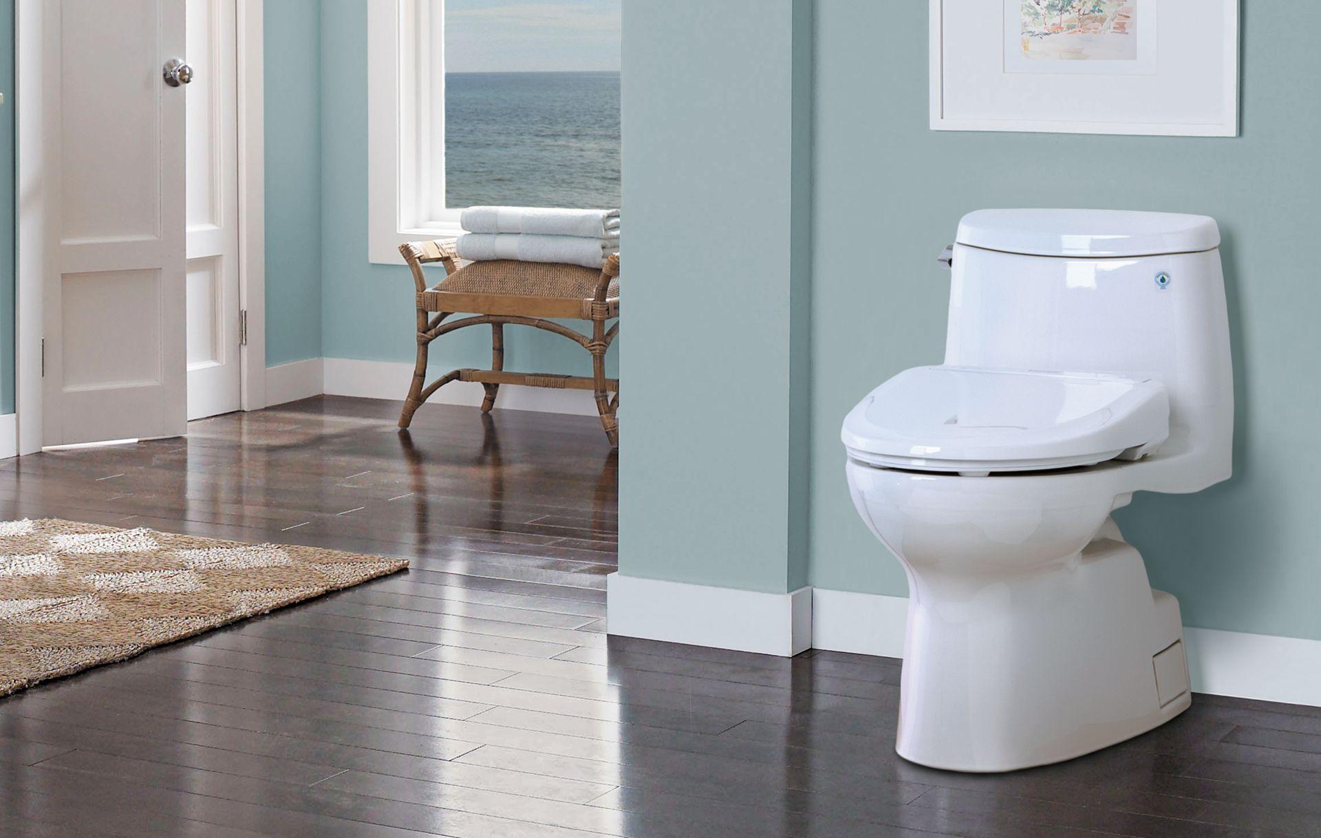 Carlyle® II WASHLET®+ S350e One-Piece Toilet - 1.28 GPF - TotoUSA.com