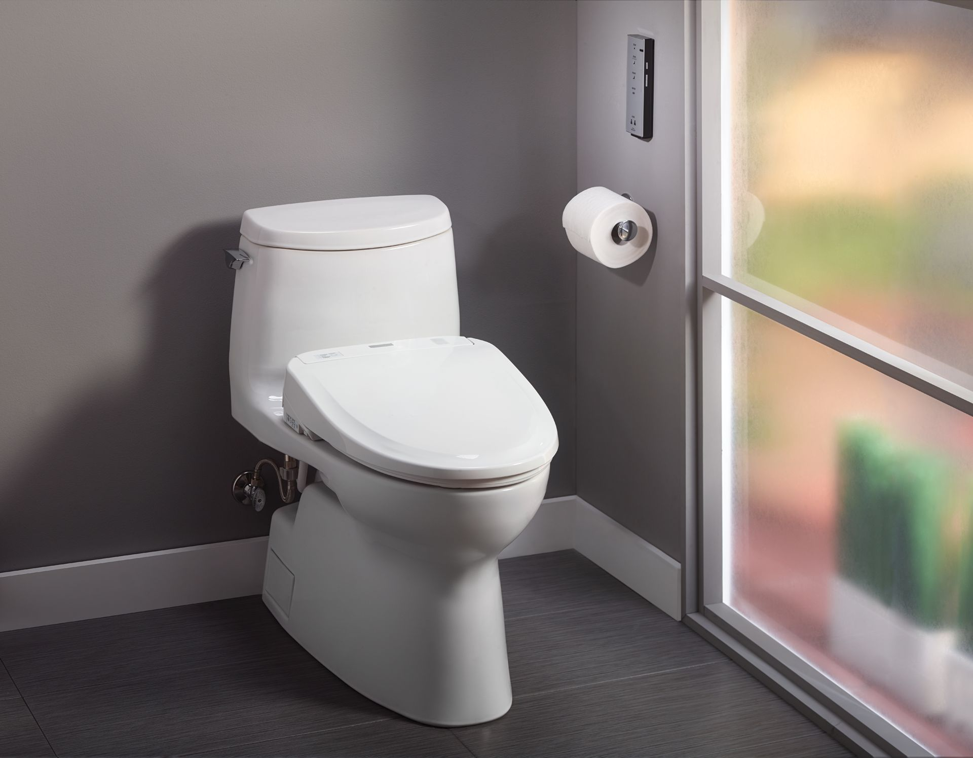Carlyle® II 1G WASHLET®+ S350e One-Piece Toilet - 1.0 GPF - TotoUSA.com