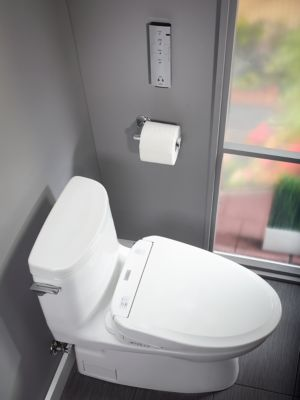 Carlyle 174 Ii 1g Washlet 174 S350e One Piece Toilet 1 0 Gpf