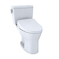 Toilette deux pièces WASHLET® S550e Drake®– 1,28gpc et 0,8gpc–Robinetterie brute 10po