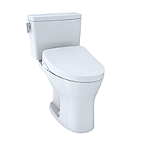 Toilette deux pièces WASHLET® S550e Drake®– 1,6gpc et 0,8gpc–Robinetterie brute 10po