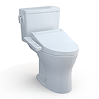 Drake® WASHLET®+ C2 Two-Piece Toilet - 1.28 GPF & 0.8 GPF - Universal Height