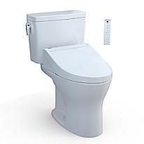 "Drake® WASHLET®+ C5 Two-Piece Toilet - 1.28 GPF & 0.8 GPF - 10"" Rough-In"