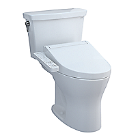 Drake® Transitional WASHLET®+ C2 Two-Piece Toilet - 1.28 GPF & 0.8 GPF