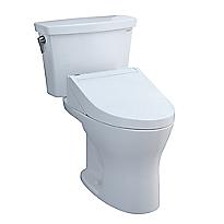 Drake® Transitional WASHLET®+ C5 Two-Piece Toilet - 1.28 GPF & 0.8 GPF