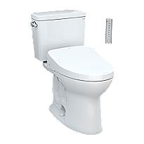 Drake® WASHLET®+ S500e Two-Piece Toilet - 1.28 GPF - Universal Height