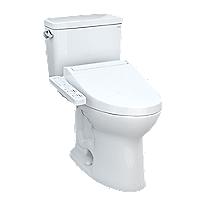 Drake® WASHLET®+ C2 Two-Piece Toilet - 1.28 GPF - Universal Height