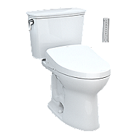 Drake® Transitional WASHLET®+ S500e Two-Piece Toilet - 1.28 GPF - Universal Height