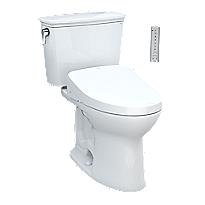 Drake® Transitional WASHLET®+ S500e Two-Piece Toilet - 1.28 GPF