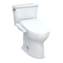 Drake® Transitional WASHLET®+ C2 Two-Piece Toilet - 1.28 GPF - Universal Height