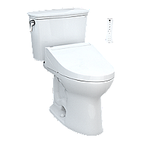 Drake® Transitional WASHLET®+ C5 Two-Piece Toilet - 1.28 GPF - Universal Height