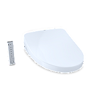 WASHLET®+ S500e - Contemporary - Elongated with ewater+