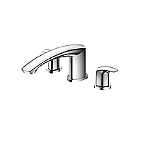 GM Three-hole Roman Tub Filler Trim