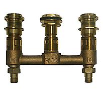 Robinet de baignoire sur caisson Kiwami® Renesse® – Valve (1/2 po)