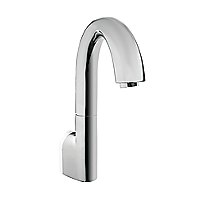 Gooseneck Wall-Mount EcoPower Faucet - 0.5 GPM
