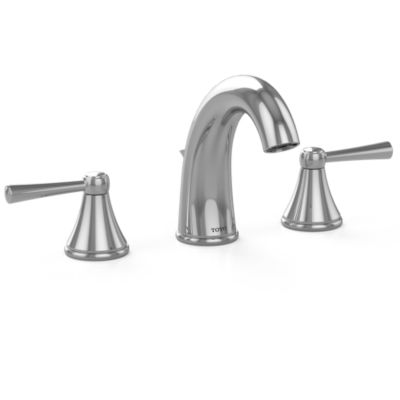 Toto TL210SD#CP Silas Single Handle Bathroom Faucet /& Drain Assembly