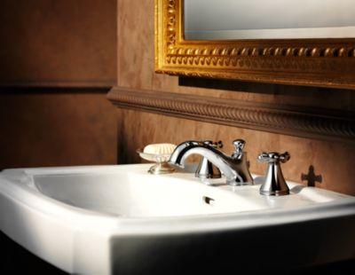 Vivian Widespread Lavatory Faucet With Lever Handles TotoUSAcom - Toto bathroom fixtures