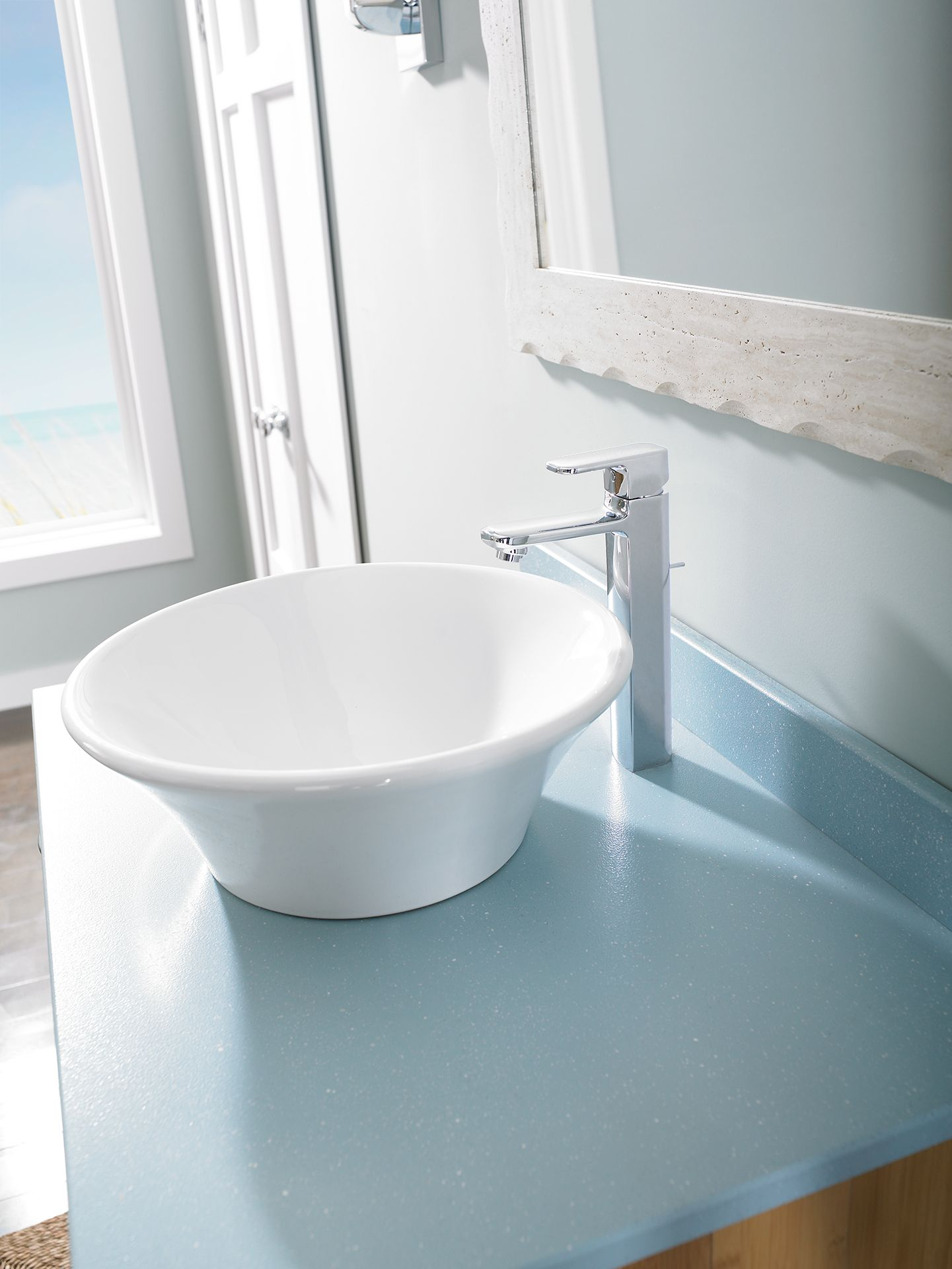 Upton™ Single-Handle Lavatory Faucet - Vessel - TotoUSA.com