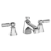 Guinevere Lever Handle Widespread Lavatory Faucet, 1.5 GPM