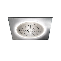 Legato® Ceiling-Mount Showerhead with LED Lighting