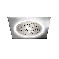 Pomme de douche Legato® au plafond avec éclairage DEL