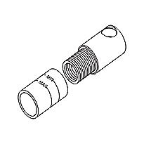 """Kiwami®      Renesse®      Hand Shower Adapter (1/2"""")"""