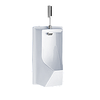 Lloyd Urinal with Electronic Flush Valve - ADA