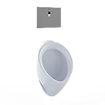 Urinal comercial de alta eficiencia con lavado, 0.5 GPD - ADA