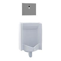 Urinoir à haute efficacité à rinçage commercial, 0,5gpc – ADA