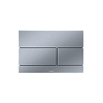 Wall Square Push Plate - Dual Button